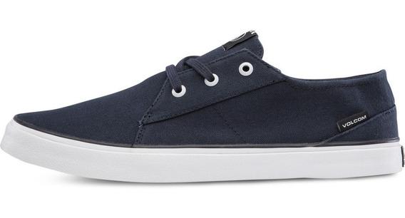 Zapatillas Volcom Lo Fi Navy Azul Originales Nvy