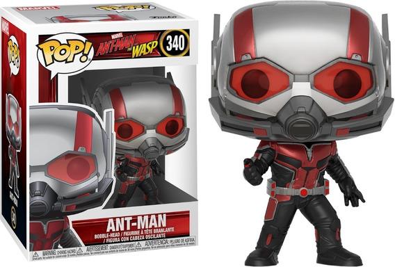 Funko Pop! Marvel - Homem Formiga E Vespa - Ant Man #340