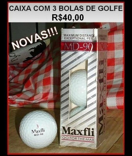 Bolas De Golfe Maxfli Novas E Originais
