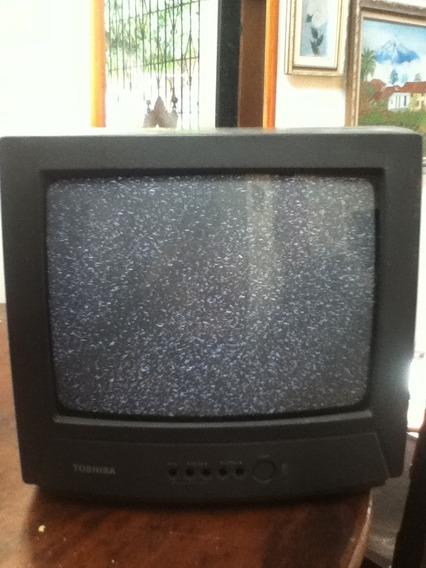 Tv 14 Pulgadas Toshiba Sn Ctrl Detalle En Las Teclas