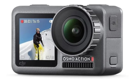 Camera De Açao Osmo Action Dji 4k - 2711