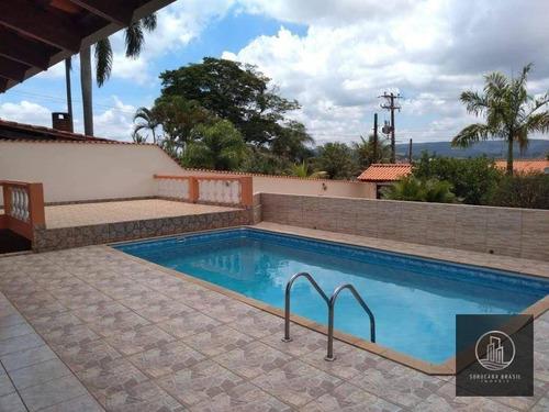 Chácara Com 3 Dormitórios À Venda, 1030 M² Por R$ 550.000,00 - Residencial Alvorada - Araçoiaba Da Serra/sp - Ch0011