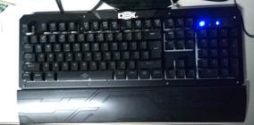 Kit Teclado Mecânico + Mouse Gamer + Headset + Mouse Pad