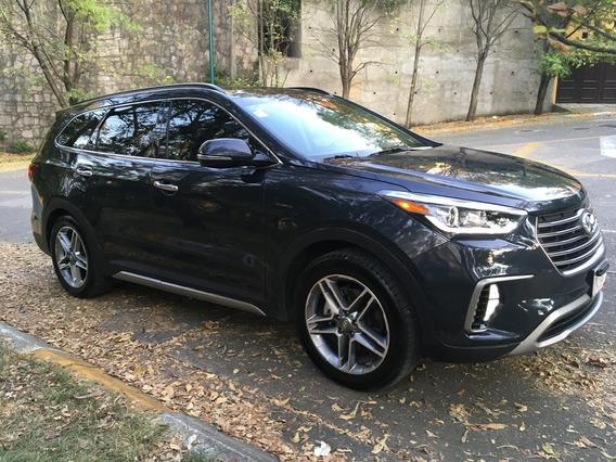 Como Nueva Hyundai Santa Fe Limited Tech 7p