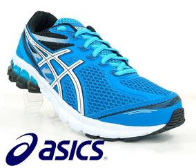 9cbd16ae426 Tênis Para Corrida Caminhada Dia Dia Asics Gel Evate 3 Azul