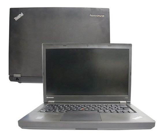 Notebook Lenovo Thinkpad T440p I5 4gb 500gb