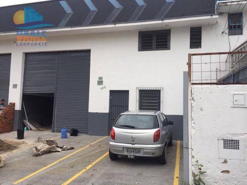 Imagem 1 de 11 de Barracão Para Alugar, 250 M² Por R$ 4.000,00/mês - Parque Da Figueira - Campinas/sp - Ba0254