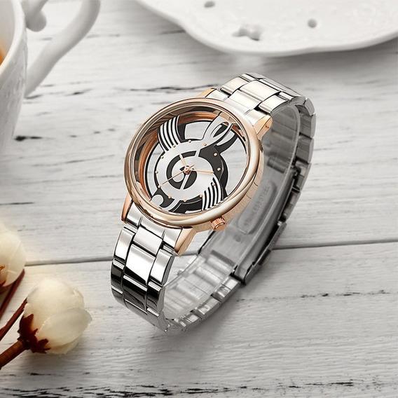 Relógio De Pulso Musica Clave De Sol + Caixa
