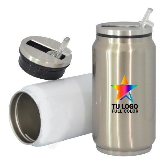 Botella Lata Aluminio Sublimada Personalizada