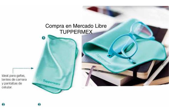 Tupperware Duo Toalla Para Limpiar Lentes Mide 30 X 15 Cm