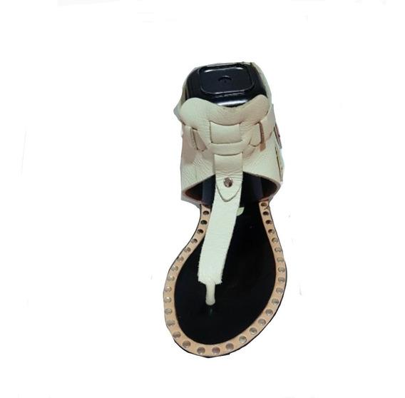 Sandalia De Cuero- Bendito Pié- N36- Rapsodia- Wanama- Prune