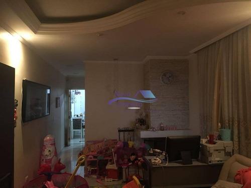 Sobrado Com 3 Dormitórios À Venda, 140 M² Por R$ 580.000,00 - Jardim Santa Adélia - São Paulo/sp - So0038