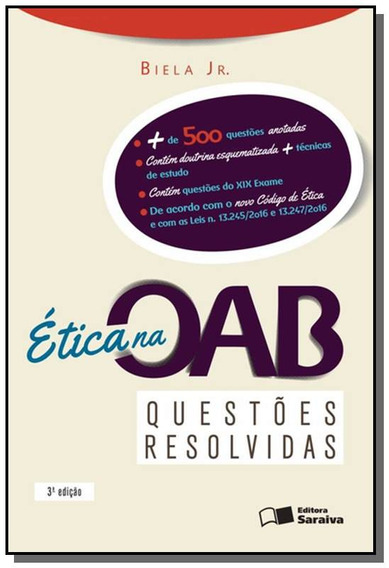 Etica Na Oab - Quest Resolv