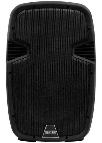 Caixa Bi Amplificada 12 200w Csr 5512 Bluetooth Usb Sd Fm