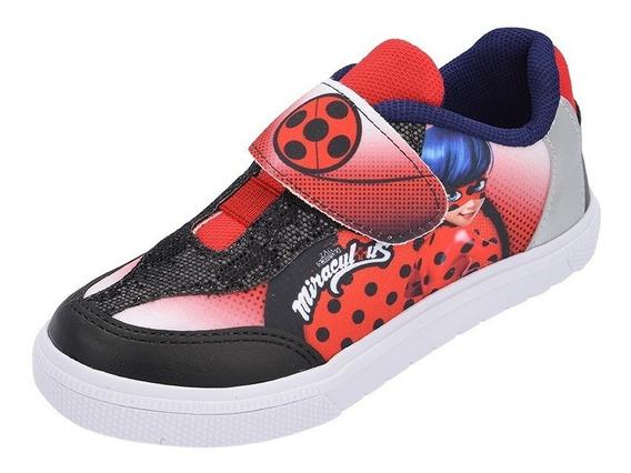 Tênis Infantil Ladybug Miraculous 25-32 Promoção Barato Leve