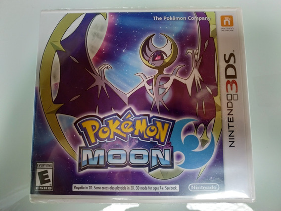 Pokemon Moon Nintendo 3ds Original Lacrado Pronta Entrega