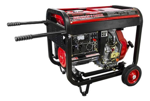 Gerador portátil Nagano ND8000E 8000W monofásico com tecnologia AVR 110V/220V