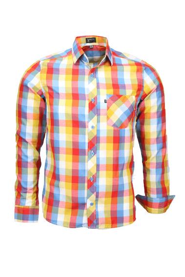 Camisa Plug Manga Longa Slim - Cor 07 - Ref 1537