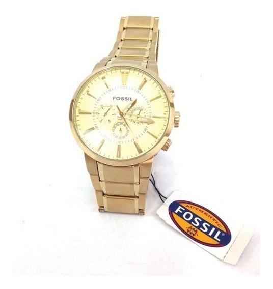 Reloj Fossil Original Watch De Dorado Cambio Apple Tv