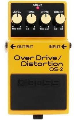 Pedal Boss Os-2 Overdrive Distortion Os2 Com Nota Fiscal