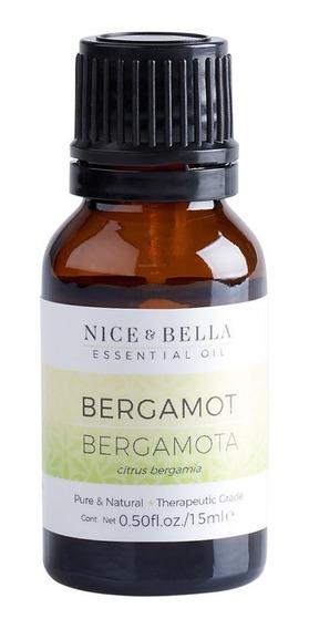 Aceite Esencial De Bergamota Con 15 Ml