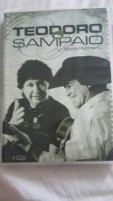 Box Teodoro E Sampaio - Nossa História 4 Cds
