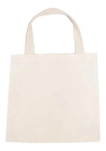 1 Bolsa | Sacola | Ecobag 42,5x33,5 Cm Lisa