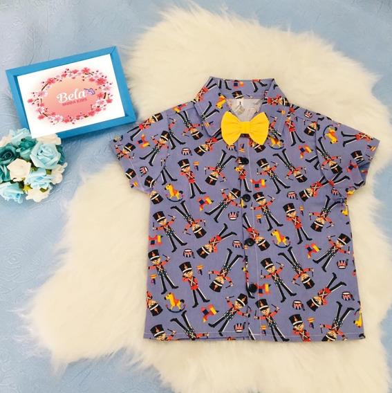 Camisa Infantil Social Masculina