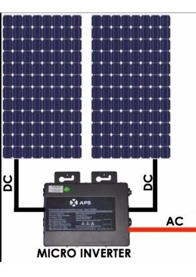 Paneles Solares Kit Para Interconexion Cfe Hasta 2.5kwd