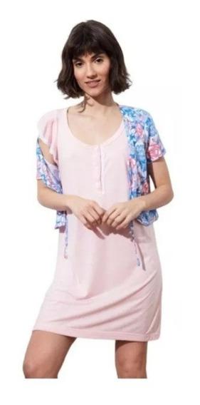Pijamas Maternales Musculosa Con Saquito Estampado(art 5038)