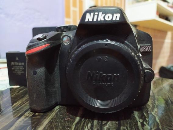 Câmera Nikon Dslr D3200 Com Lente Original 18-55mm+ 50mm