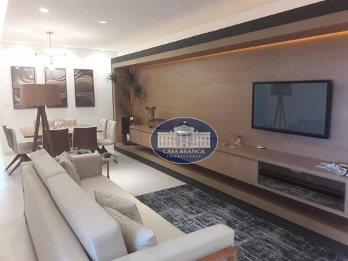 Apartamento Com 3 Dormitórios À Venda, 116 M² Por R$ 402.000,00 - Concórdia Ii - Araçatuba/sp - Ap0837