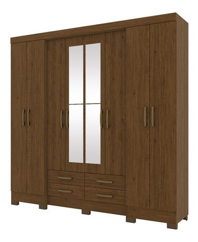 Ropero  Dormitorio 8 Puertas / Espejo De Regalo