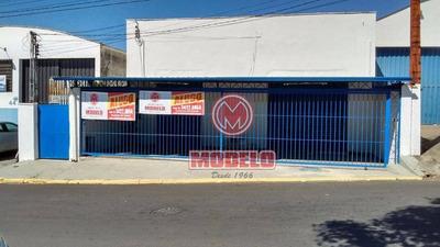 Salão Comercial Para Locação, Jardim Caxambu, Piracicaba. - Sl0129