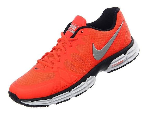 Tenis Nike Nike Dual Fusion Tr6 Naranja Hombre Originales