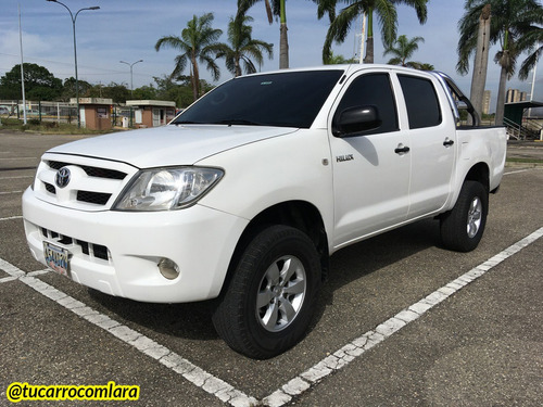 Toyota Hilux 2009 4x4 Sincrónico Impecable