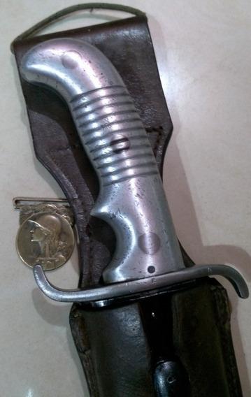Antiguo Sable Machete Artillería Modelo 1898. Daga. Bayoneta