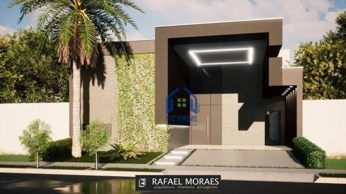 Casa Com 3 Dormitórios À Venda, 170 M² Por R$ 820.000,00 - Condominio Village Dhama - Mirassol/sp - Ca2423