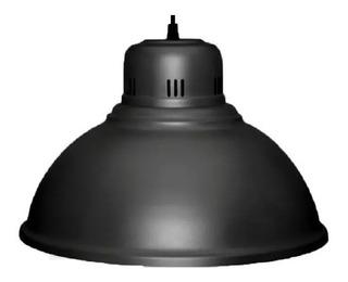 Colgante Metalico Microtexturado Negro Ø 38 Cm.