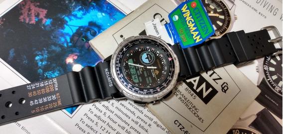 Citizen Wingman 8945 Balck - Combo Promaster