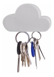Porta Llaves Magnetico Para Hogar Oficina Con Forma De Nube
