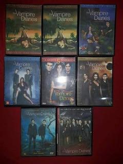 Coleccion De Todas Las Temporadas De The Vampire Diaries