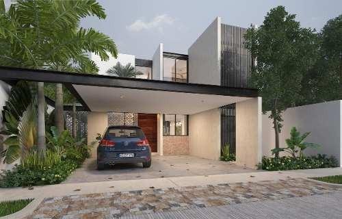 ¡yaax-beh Residencial, Mod C Conkal ! Amplias Casas Con Alberca ,zona Norte ,mérida Yucatán.
