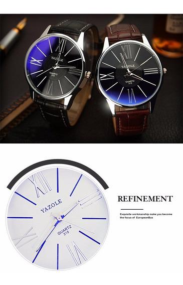 Relógio De Pulso Marca De Luxo Dos Famosos Quartzo