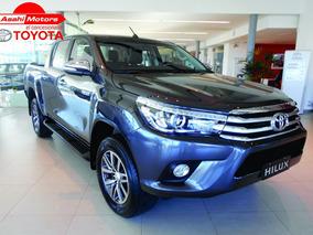 Toyota Hilux Dx 4x4 2.4 Gris Doble Cabina 100% Financiado