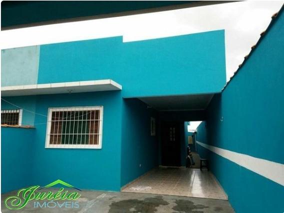 Casa Térrea, Com 2 Dormitórios A 2000 Metros Da Praia