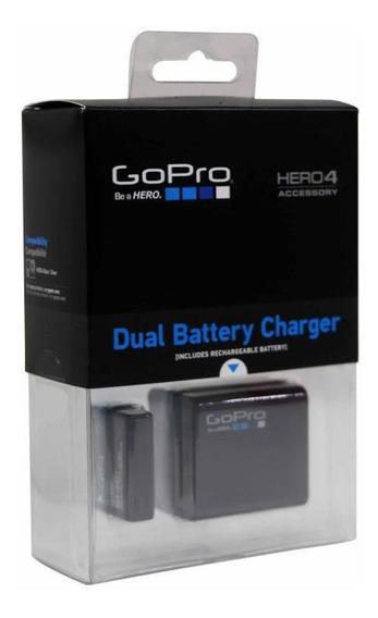 Carregador Duplo Gopro Hero 4 Bateria Extra Original