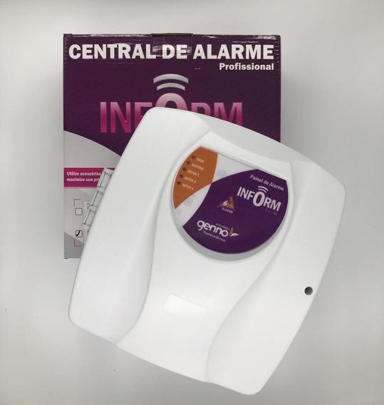 Central De Alarme Inform Slim 3 - 1+ 2 Setores