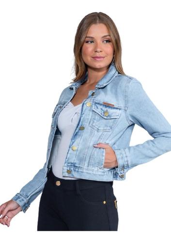 Imagem 1 de 4 de Jaqueta Jeans Feminina Revanche Ucrânia