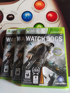 Watch Dogs Xbox 360 Original Físico Usado